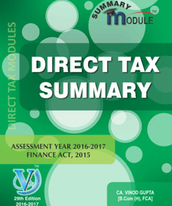 Direct Tax Summary