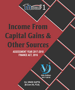 Income Form Capital Gains & Other Sources (Module-I)