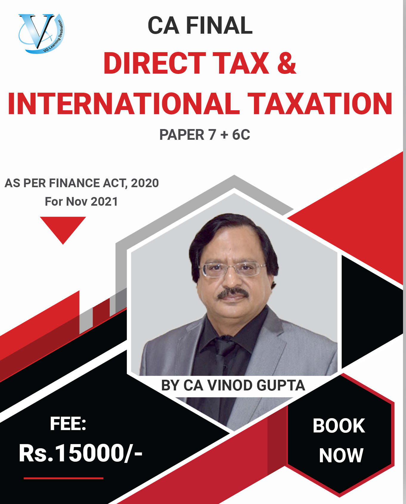 Direct Tax Paper 7 For May 2021 Prebook